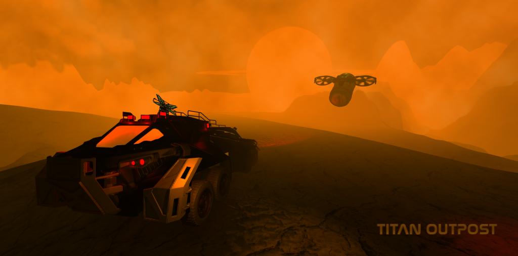 Titan Outpost Rover