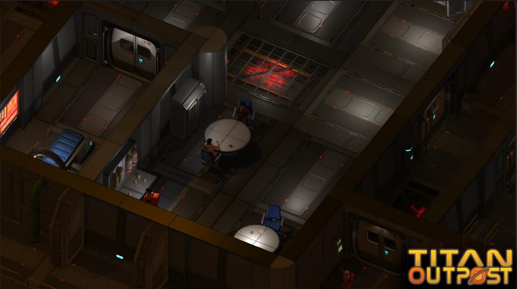 Titan Outpost Isometric
