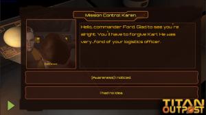 Titan Outpost Dead Coworker